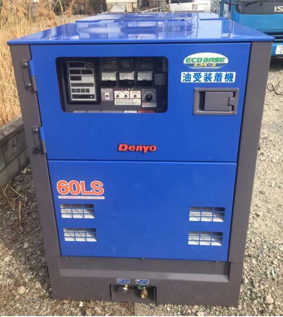 Denyo大型発電機販売事例