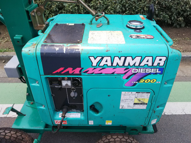 和光機械(WACOH) 投光機 ウルトラパワーライト 2灯 WL402WM-6G ヤンマー(YANMAR) ディーゼル発電機