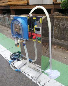 サンシン 液体充填機 TPK-5000B 5000cc/分 美品