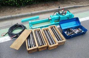 板橋 油圧推進式管工機 地中管工機 ボーラー TN-300
