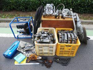 中野製作所(NAKANO CUTTER LIMITED) キールカッター エンジン式フレキシャフト駆動型 N600 一式