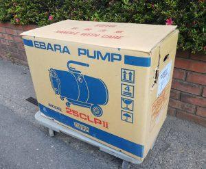 エバラ(EBARA) ウェットクリーナ CLP2型 25CLP2
