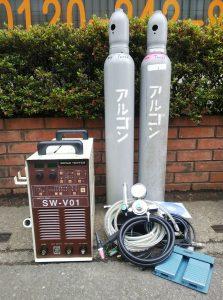 三和商工(SANWA) TIG 抵抗溶接機 WELD PRO SW-V01 付属品付 綺麗