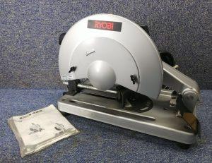 リョービ(RYOBI) 切断機 C-307NA 未使用砥石2枚 取説 元箱付