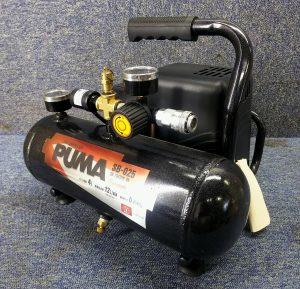 SK11 PUMA オイルレスエアーコンプレッサーSB-025 SB-L04SPB-05 タンク4L