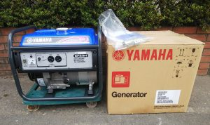 ヤマハ(YAMAHA) OHV エンジン発電機 EF23H 取説 元箱付 未使用