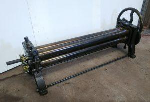 平井鈑金機工(HBK) 三本ロール ロール幅102cm 直径75mm 綺麗