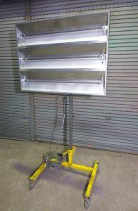 サンコーヒーター 自動車板金 塗装 乾燥機