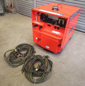 デンヨー(Denyo) 防音型エンジン溶接機 発電機